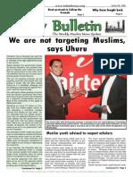 Friday Bulletin 589...