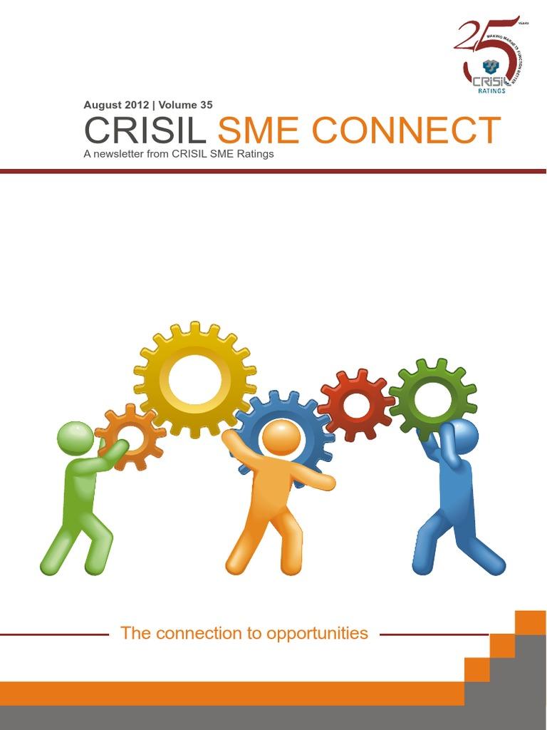 Crisil Sme Connect Aug12   Bonds (Finance)   Reserve Bank Of India