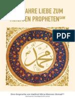 Die Wahre Liebe Zum Heiligen Propheten SAW