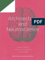 Juhani Pallasmaa Architecture and Neuroscience