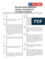 Copy of Physical Geograhph of India and World Solutions