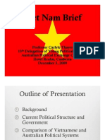Thayer Vietnam Political System and Current Issues 2009