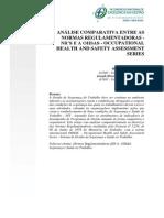 Análise Comparativa Entre as Nrs e Oshas