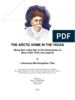 The Artic Home in the Vedas, B G Tilak, 1903