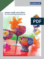 Staedtler Fimo Brochure