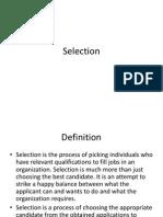 Selection L6