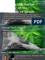 Exposing the 'Reefer Madness' of the Parliament of Canada 2of10 Benskin-Casey