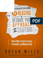 eBook - Bryan Miles - 9 Reasons to Rethink Your Approach to Staffing - 2012