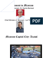 Government in Mizoram