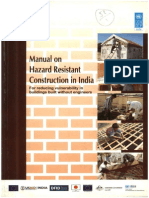 Manual on Hazard Resistant Construction