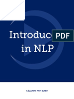 Introducere in NLP - CPS