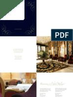Hotel Balzac Brochure