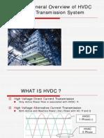 General Overview of Hv Dc Transmission System