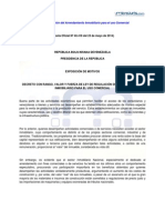 Ley de Regulacic3b3n Del Arrendamiento Inmobiliario Para El Uso Comercial