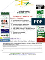 14th August,2014 Daily Global Rice E-Newsletter by Riceplus Magazine