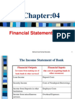 Financial Statement of Bank