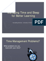 managingtimeandsleepforbetterlearning