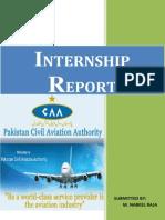 CAA Finance Internship Report