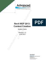 Manual RevitMEP13 Content