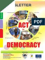 Act in Democracy, EuroDEMOS International Newsletter