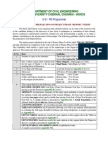 Anna University guideliness for thesis report submission