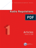 ITU Radio Regulations_ Vol I - Articles