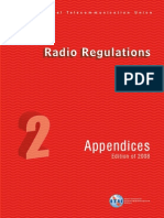 ITU Radio Regulations_ Vol II - Appendices