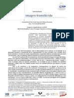 Congreso Imagen Translucida Convocatoria