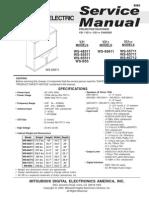 mitsubishi v21 Service Manual