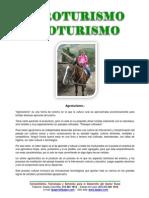 AGROTURISMO y ECOTURISMO