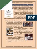 Philo Formation Workshop Report