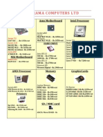 Price List_rama Computers