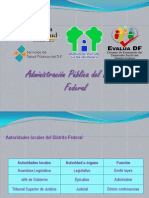 Administracion Publica en El DF