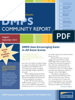 DMPS Community Report - August/September 2014