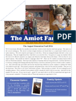 Amiot August 2014 Newsletter