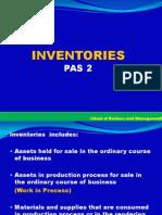 Prac I- Inventory,Govt Grant & Borrowing Cost
