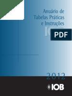 Anuário de Tabelas Práticas e Instruções_2012