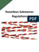Hazardous Substances Regulations