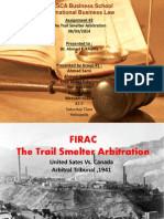 The Trail Smelter Arbitration - V2