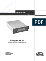 Flatpack MCU Unidad de Control y Monitoreo (351300 013-1) Esp