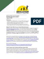 Newsletter August 14 2014