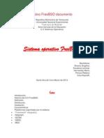 Sistema Operativo FreeBSD Documento