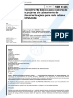 Normas de Cabeamento Estruturado_NBR14565