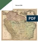 Perú y Tierra Firme en 1745