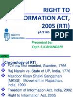 Rti Act, 2005