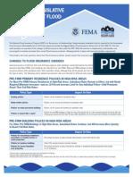 How Recent Legislative Changes Flood Insurance