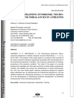 The Overtraining Syndrome Neuro