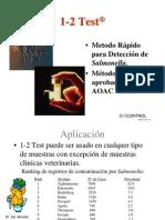 Presentación 1-2 test en Español