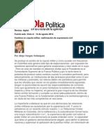Articulo (REVISAR) Comcepcion Civico Militar en Colombia