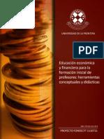 Educación Económica y Financiera Para La Formación Inicial de Profesores. Dra. Marianela Denegri